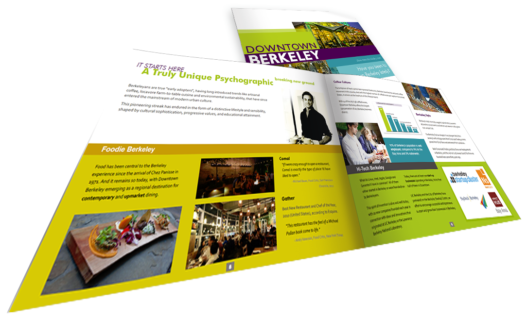 Page layout for brochures or pamplets or whitepapers